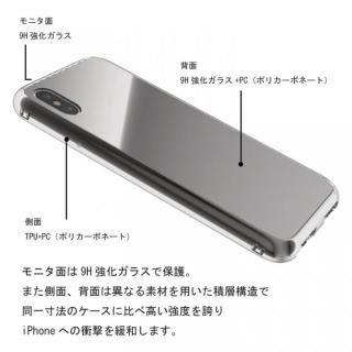 【iPhone Xケース】Monolith Crystal X iPhone X シルバー_7