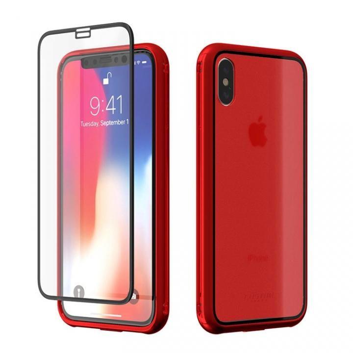iPhone X ケース Monolith Crystal X iPhone X レッド_0
