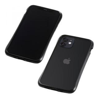 iPhone 12 mini (5.4インチ) ケース CLEAVE Aluminum Bumper ブラック iPhone 12 mini