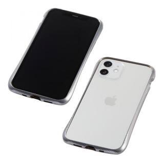 iPhone 12 mini (5.4インチ) ケース CLEAVE Aluminum Bumper シルバー iPhone 12 mini【5月中旬】