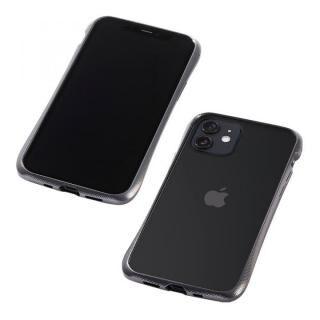 iPhone 12 mini (5.4インチ) ケース CLEAVE Aluminum Bumper グラファイト iPhone 12 mini