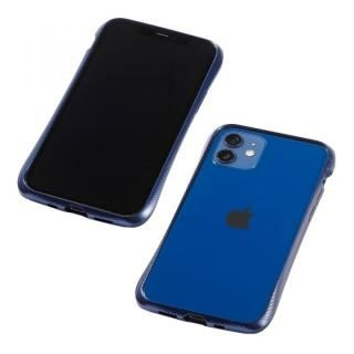 iPhone 12 / iPhone 12 Pro (6.1インチ) ケース CLEAVE Aluminum Bumper ミッドナイトブルー iPhone 12/iPhone 12 Pro