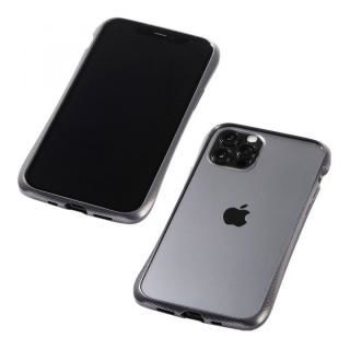 iPhone 12 / iPhone 12 Pro (6.1インチ) ケース CLEAVE Aluminum Bumper グラファイト iPhone 12/iPhone 12 Pro【5月下旬】
