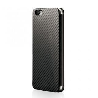 【iPhone6ケース】Deff monCarbone Portfolio 手帳型ケース ブラック iPhone 6_1