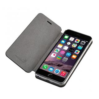 【iPhone6ケース】Deff monCarbone Portfolio 手帳型ケース ブラック iPhone 6_2