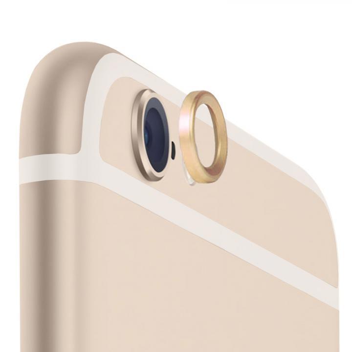 カメラレンズを保護 truffol Metal Lens Guard ゴールド iPhone 6_0