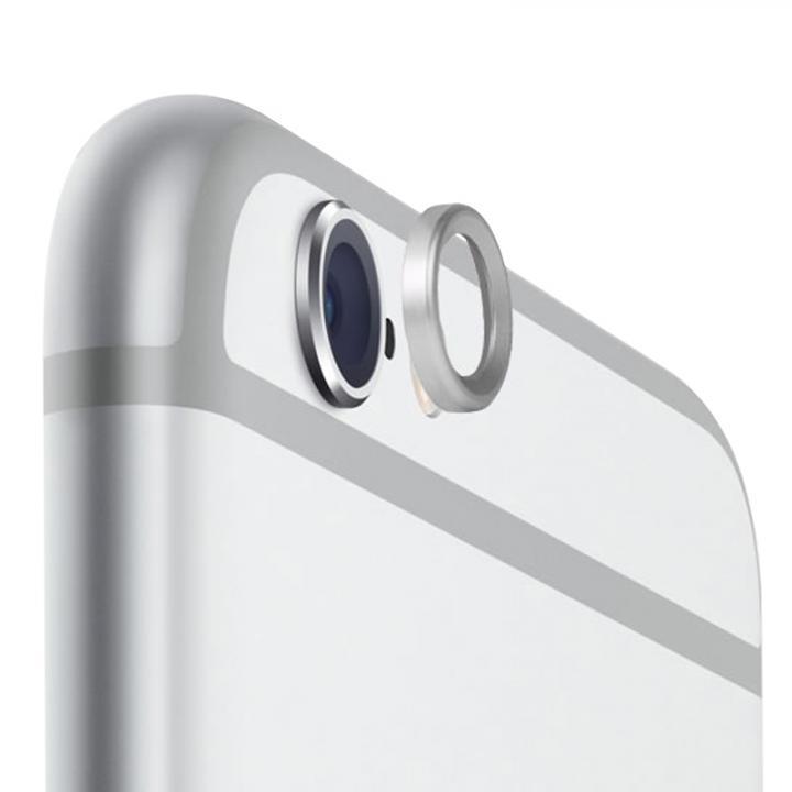 カメラレンズを保護 truffol Metal Lens Guard シルバー iPhone 6_0