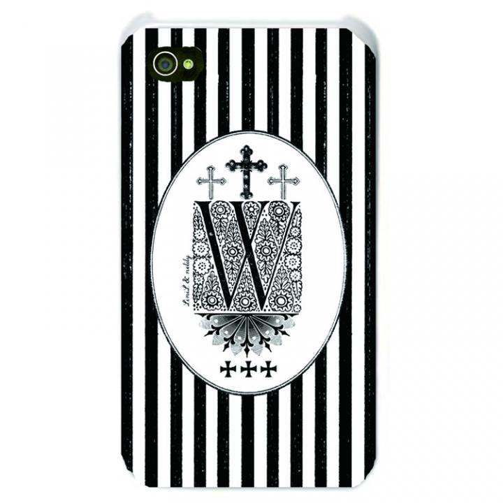 iPhone SE/5s/5 ケース Savoy iPhone SE/5s/5 Bonbon stripe W_0