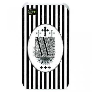 iPhone SE/5s/5 ケース Savoy iPhone SE/5s/5 Bonbon stripe W