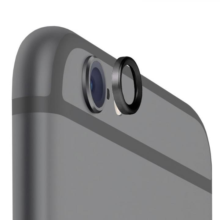 カメラレンズを保護 truffol Metal Lens Guard ブラック iPhone 6
