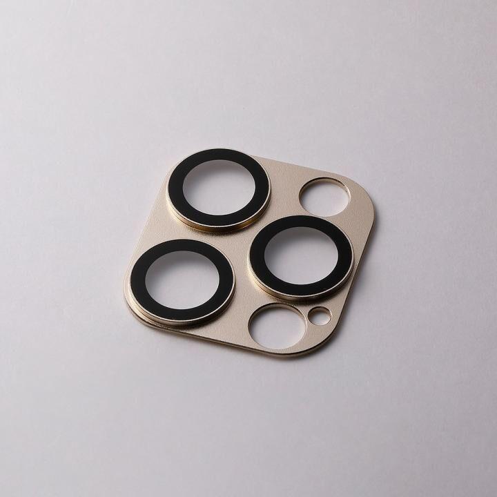 Hybrid Camera Lens Cover カメラレンズ保護 ゴールド iPhone 12 Pro Max【8月上旬】_0