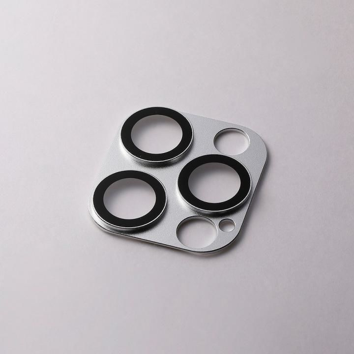 Hybrid Camera Lens Cover カメラレンズ保護 シルバー iPhone 12 Pro Max_0