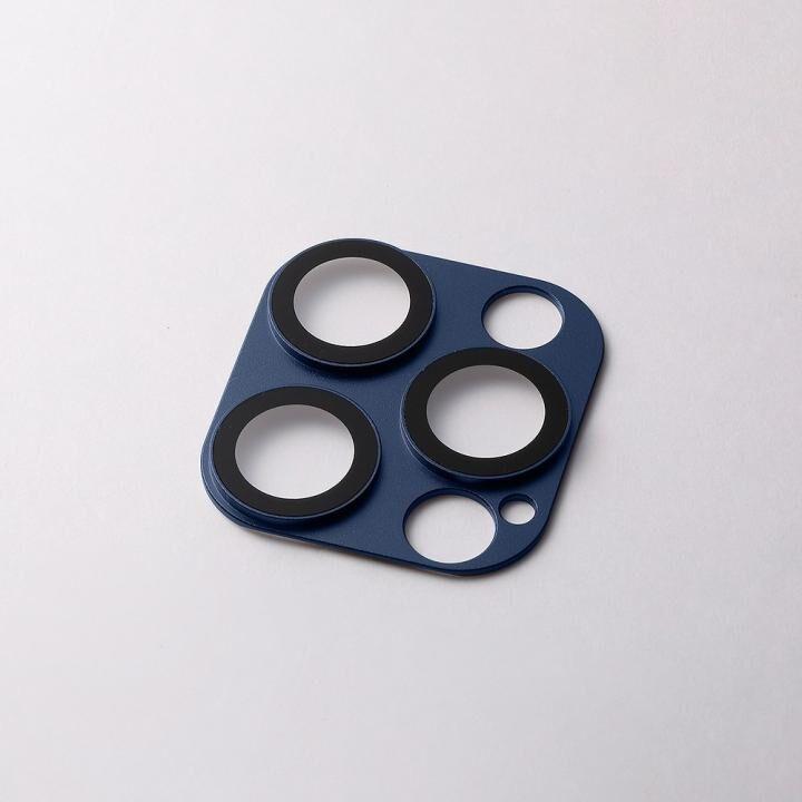 Hybrid Camera Lens Cover カメラレンズ保護 ネイビー iPhone 12 Pro Max_0