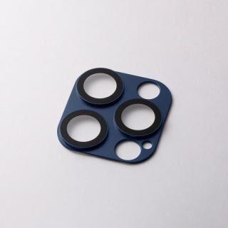 iPhone 12 Pro Max (6.7インチ) ケース Hybrid Camera Lens Cover カメラレンズ保護 ネイビー iPhone 12 Pro Max