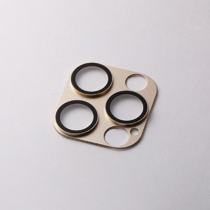 Hybrid Camera Lens Cover カメラレンズ保護 ゴールド iPhone 12 Pro_0