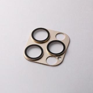 iPhone 12 / iPhone 12 Pro (6.1インチ) ケース Hybrid Camera Lens Cover カメラレンズ保護 ゴールド iPhone 12 Pro