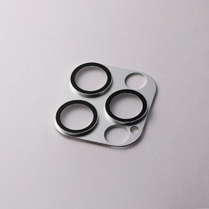 Hybrid Camera Lens Cover カメラレンズ保護 シルバー iPhone 12 Pro_0