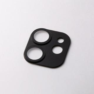 iPhone 12 / iPhone 12 Pro (6.1インチ) ケース Hybrid Camera Lens Cover カメラレンズ保護 ブラック iPhone 12