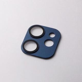 iPhone 12 mini (5.4インチ) ケース Hybrid Camera Lens Cover カメラレンズ保護 ネイビー iPhone 12 mini
