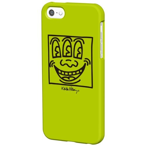 【iPhone SE/5s/5ケース】Keith Haring Collection Bezel Case  iPhone SE/5s/5 Face/Yellow_0