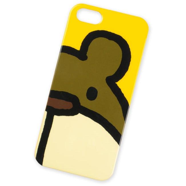 【iPhone SE/5s/5ケース】KOHEM iPhone SE/5s/5 Case クマ(かお)_0