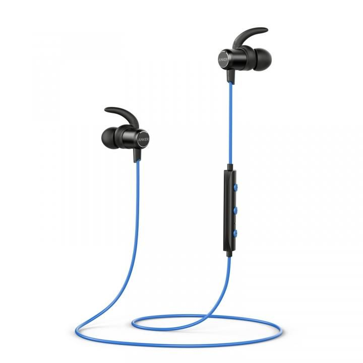 Anker SoundBuds Slim Bluetoothイヤホン IPX5 ブルー【4月中旬】_0