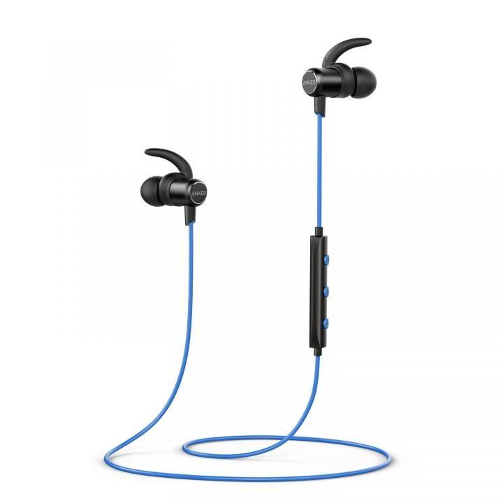 Anker SoundBuds Slim Bluetoothイヤホン IPX5 ブルー【5月中旬】_0
