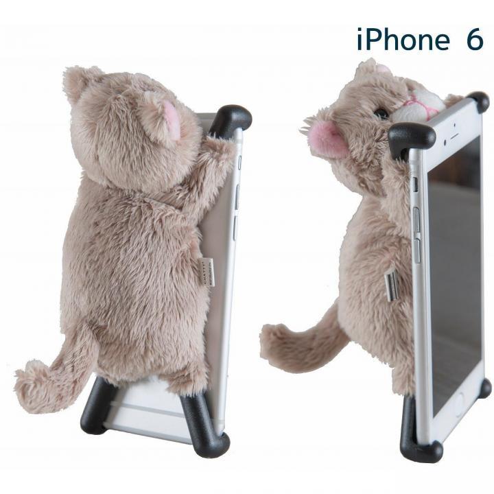 【iPhone6ケース】ぬいぐるみケース CHATTY 2 ベージュ iPhone 6s/6_0