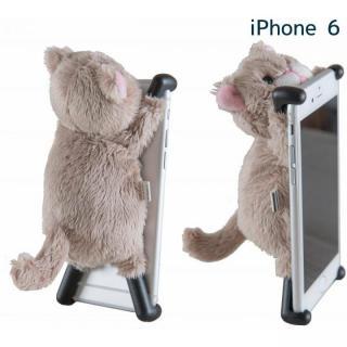 iPhone6 ケース ぬいぐるみケース CHATTY 2 ベージュ iPhone 6s/6
