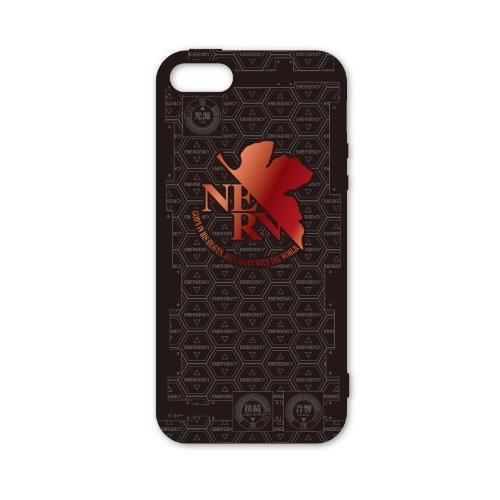 エヴァンゲリヲン新劇場版 iPhone SE/5s/5 キャラクタージャケット ブラック