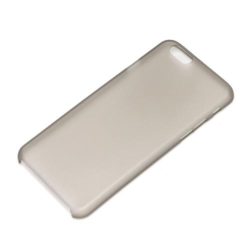【iPhone6ケース】薄さ0.35mm スーパースリムハードケース クリアブラック iPhone 6_0