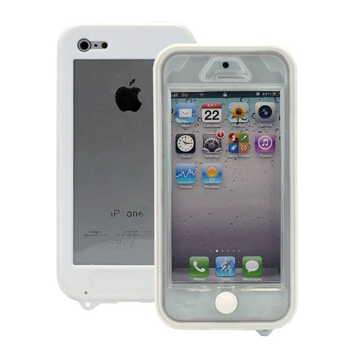着脱簡単&スリムな形状、普段使いに最適な生活防水ケース『Easyproof Case  iPhone5』(ホワイト)