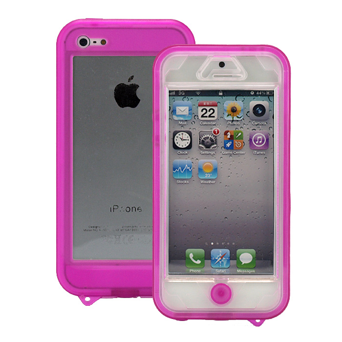 【iPhone SE/5s/5ケース】普段使いに最適な生活防水ケース『Easyproof Case  iPhone5』(ピンク)_0