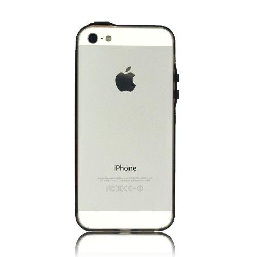 極薄1mm、透明度の高いiPhone SE/5s/5バンパー『Flat Fit Band  iPhone 5』