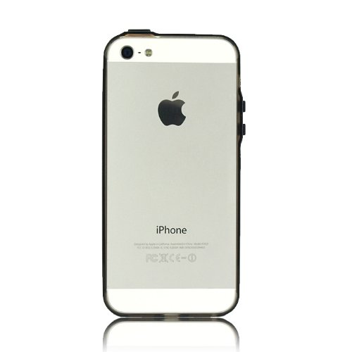 【iPhone SE/5s/5ケース】極薄1mm、透明度の高いiPhone SE/5s/5バンパー『Flat Fit Band  iPhone 5』_0