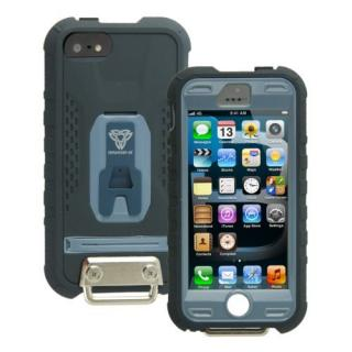 Fullprotection Rugged case  iPhone5(ライトブルー×ネイビー)