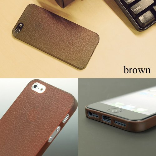 iPhone SE/5s/5 ケース Skinny Fit Case  iPhone SE/5s/5 2nd Edition:リッチモデル(ブラウン)_0