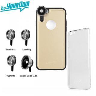 iPhone6s Plus/6 Plus ケース レンズ装着ケース GoLensOn パーティパック シャンパンゴールド iPhone 6s Plus/6 Plus
