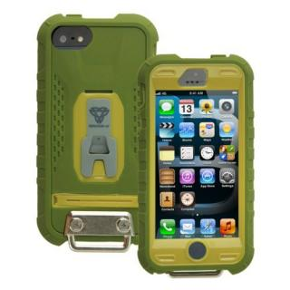 Fullprotection Rugged case  iPhone5(ブラウン×アーミーグリーン)