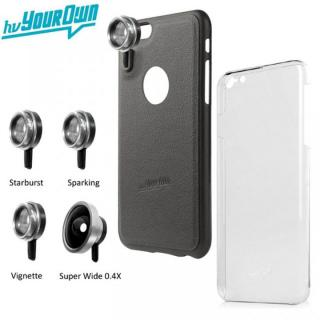 レンズ装着ケース GoLensOn パーティパック スティールブラック iPhone 6s Plus/6 Plus