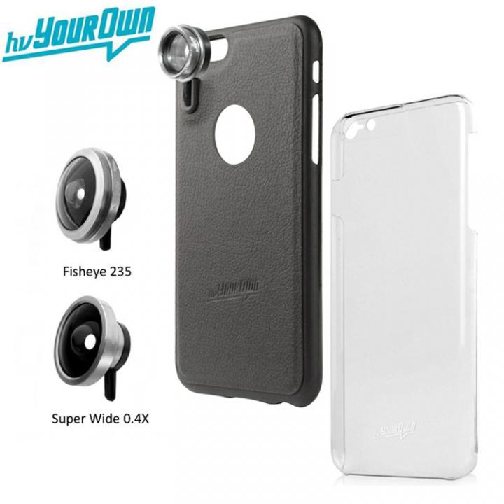レンズ装着ケース GoLensOn プレミアムパック スティールブラック iPhone 6s Plus/6 Plus