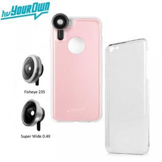 iPhone6s Plus/6 Plus ケース レンズ装着ケース GoLensOn プレミアムパック ローズピンク iPhone 6s Plus/6 Plus