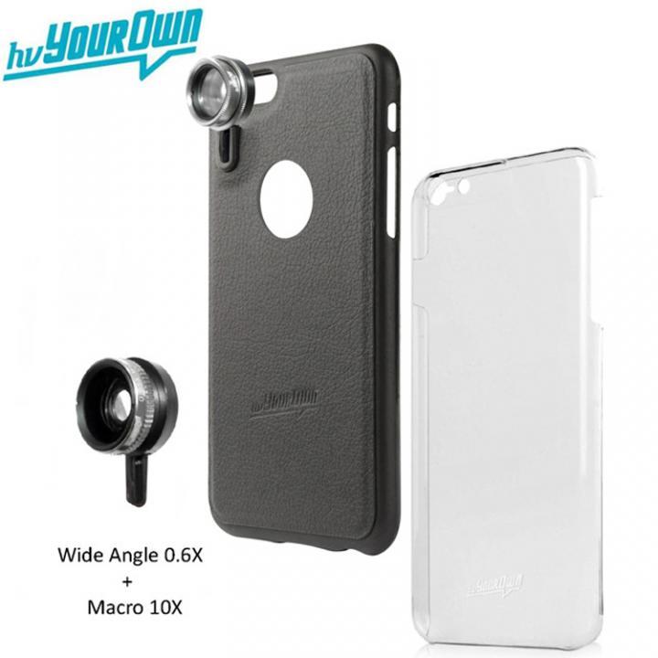 レンズ装着ケース GoLensOn 通常パック スティールブラック iPhone 6s Plus/6 Plus