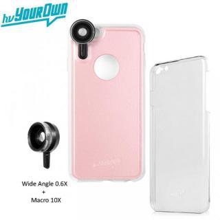 iPhone6s Plus/6 Plus ケース レンズ装着ケース GoLensOn 通常パック ローズピンク iPhone 6s Plus/6 Plus