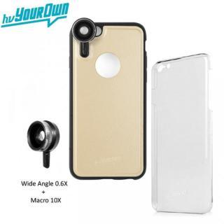レンズ装着ケース GoLensOn 通常パック シャンパンゴールド iPhone 6s Plus/6 Plus