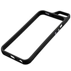 【iPhone SE/5s/5ケース】Totsu iPhone SE/5s/5 バンパー ブラック_0