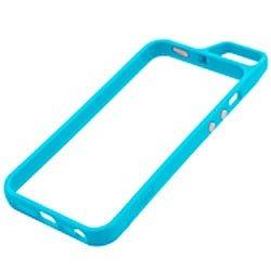 iPhone SE/5s/5 ケース Totsu iPhone SE/5s/5 バンパー シアンブルー_0