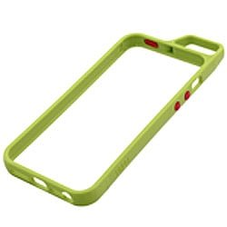 【iPhone SE/5s/5ケース】Totsu iPhone SE/5s/5 バンパー グリーン