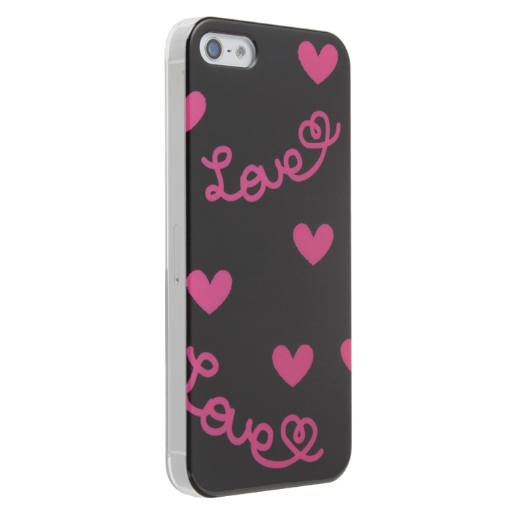 iPhone5 Pop Heart Black