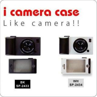 その他のiPhone/iPod ケース i camera case(BK) iPhone4s/4
